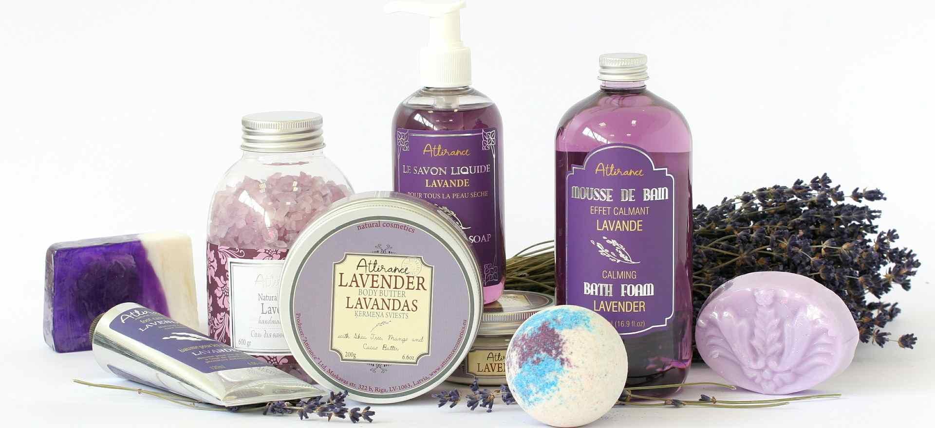 Aromatherapie mit Lavendel